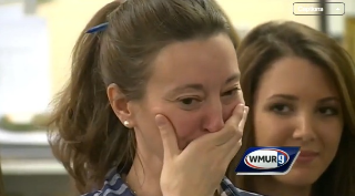 Principal Diagnosed with Cancer is Brought to Tears by Student's Gift  June 10, 2015