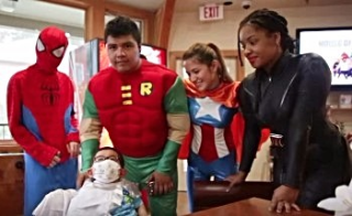 Superheroes Helping Sick Kids November 4, 2015