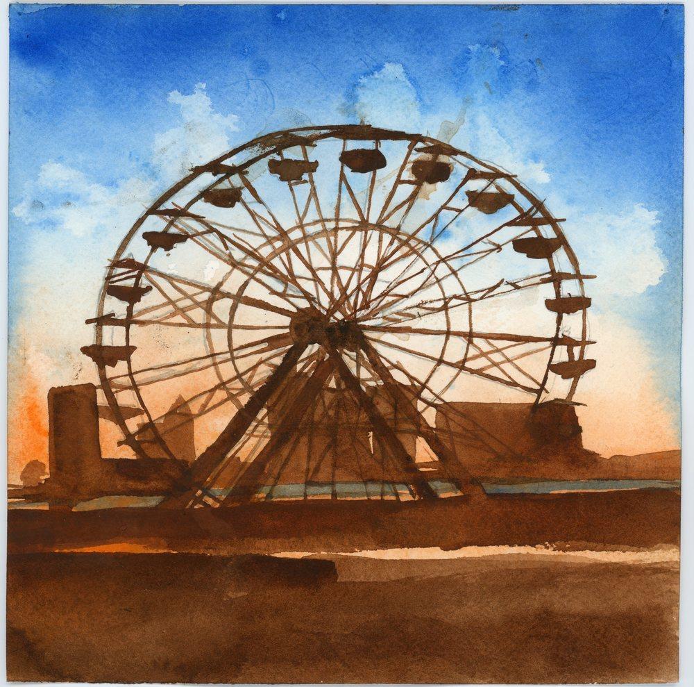 Oktoberfest Farris Wheel