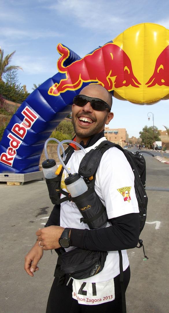 Sidi-Mohammad Rahhaoui Finish Line Zagora Marathon 2013 3.jpg