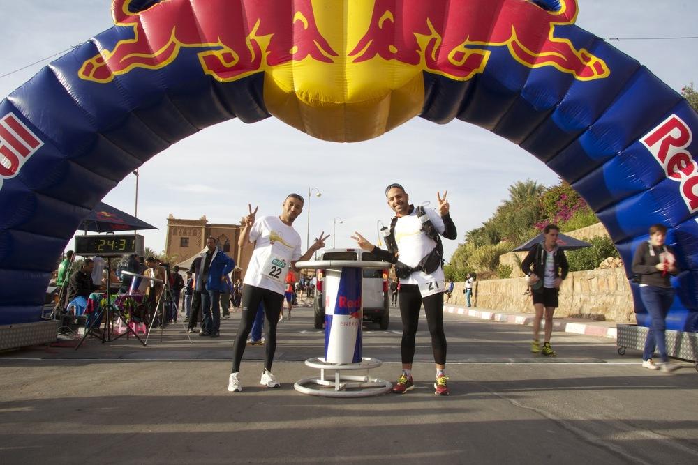 Sidi-Mohammad Rahhaoui & Nabil Abza Zagora Marathon 2013.jpg