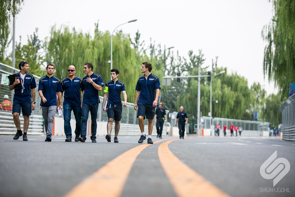 5.  Friday at 2pm, the track was opened for teams and engineers to do their track walk