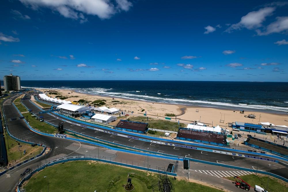 The race circuit & The Atlantic Ocean