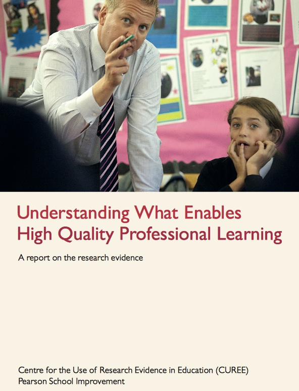 Research on effective professional learning for educators