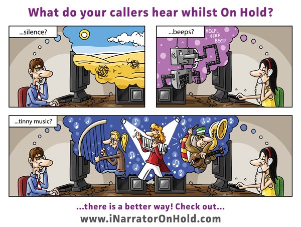 What Do Your Callers Hear Whilst On Hold? Silence? Beeps? Tinny Music?