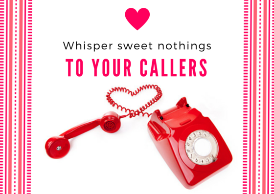 Whisper sweet nothings to your callers... click the image to request your free On Hold Demo