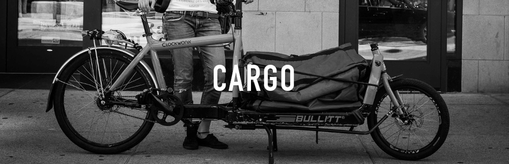 Our fleet of cargo bikes can handle your large deliveries with ease. Don't be shy, we like the challenge.