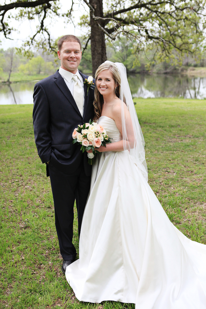 """My wedding at The Greenbranch was on March 23rd, 2013. I could not recommend a more beautiful wedding venue in the Brazos Valley than The Greenbranch. In addition to the georgeous setting, the time and attention that Darlynne and her staff gave ensured that my day would be unforgettable. For any bride looking for a one of a kind place to get married, The Greenbranch is guaranteed to give you the wedding of your dreams.""  - Laramie Williams"
