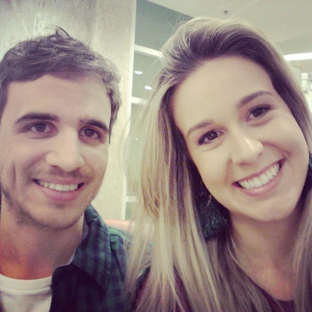 Lucas e Ana Paula Giantaglia