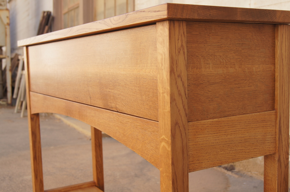 Shaker Style Console