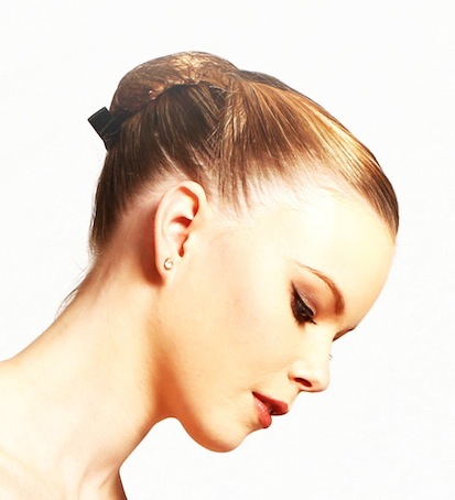 The classical ballet bun.