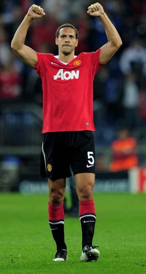 Top athlete Rio Ferdinand