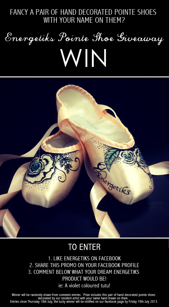 Pointe Shoes Share To Win