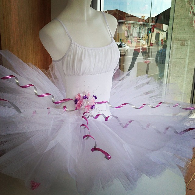 Tutu in the window