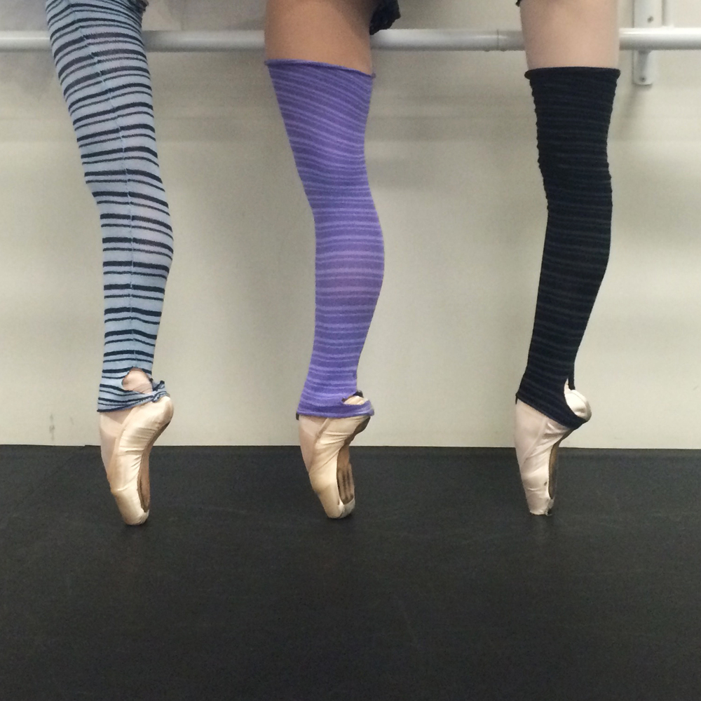 In class: the leg-warmer squad ;)