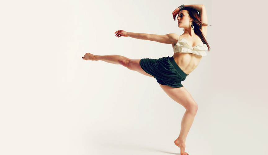 'Step Up' Dancer Kathryn McCormick who is amongst the pick of industry talent that will be teaching at VDF
