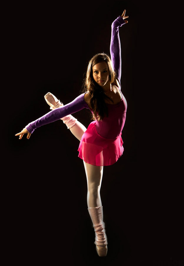 Dena as Abigail in ABC's Dance Academy. Image: ABC