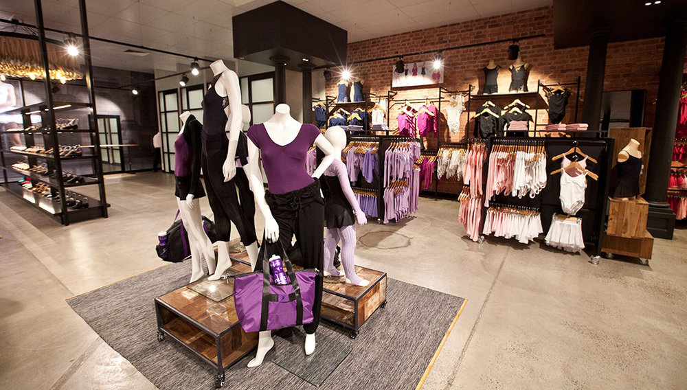 Inside the store: Our largest store to date means that Energetiks Moorabbin stocks an even greater range of fashionable dance and activewear!