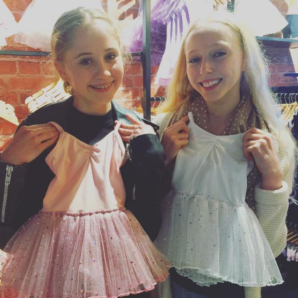 #energetiksmoorabbin - Bianca and Emily modelling our Sparkle Tutus ;)