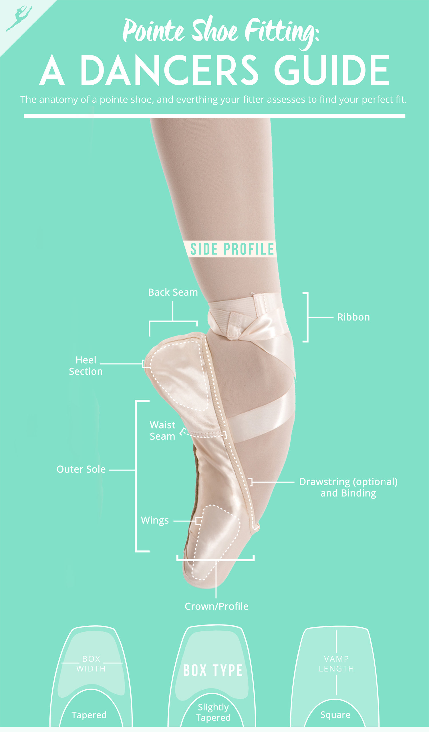 bb922847ae8c A dancer s guide to pointe shoes and finding the perfect fit.
