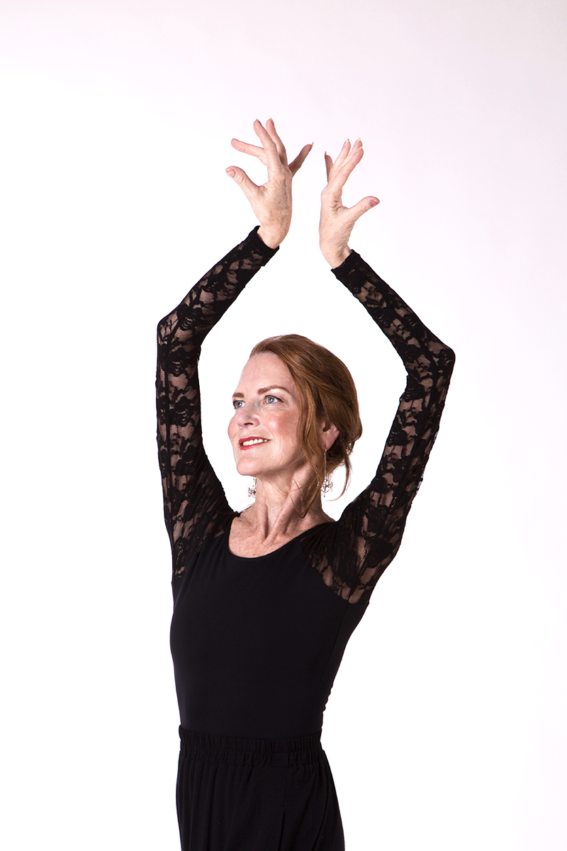Carol wears the  Hailey Leotard  in Black