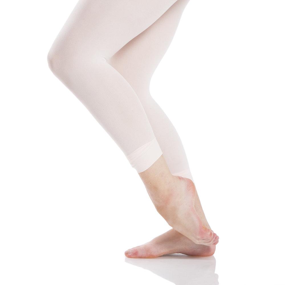 Slowly fondu the supporting leg