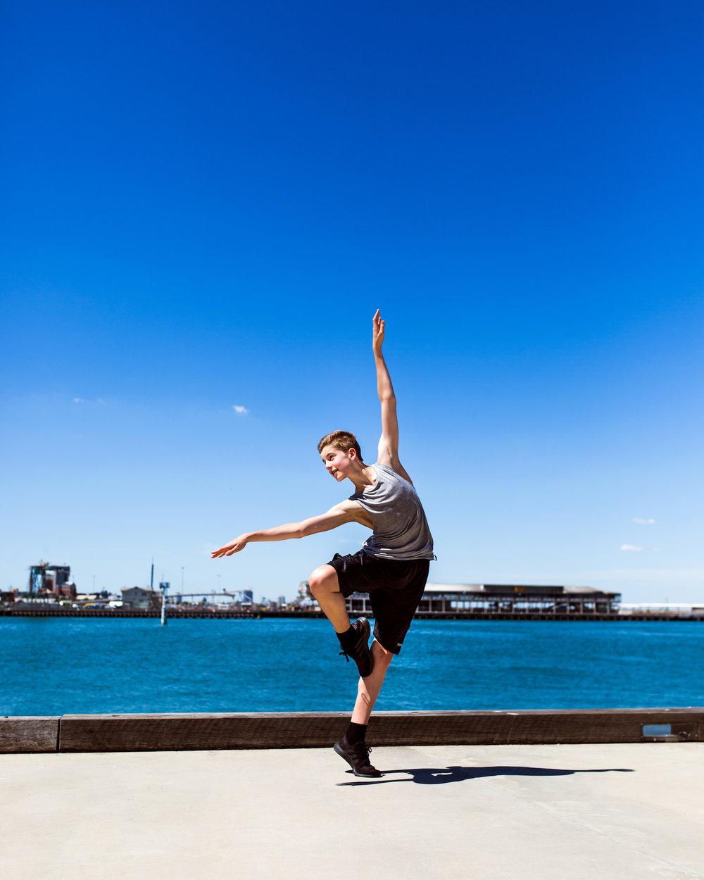 Tom wears Energetiks  Male Tank  and  Urban Shorts