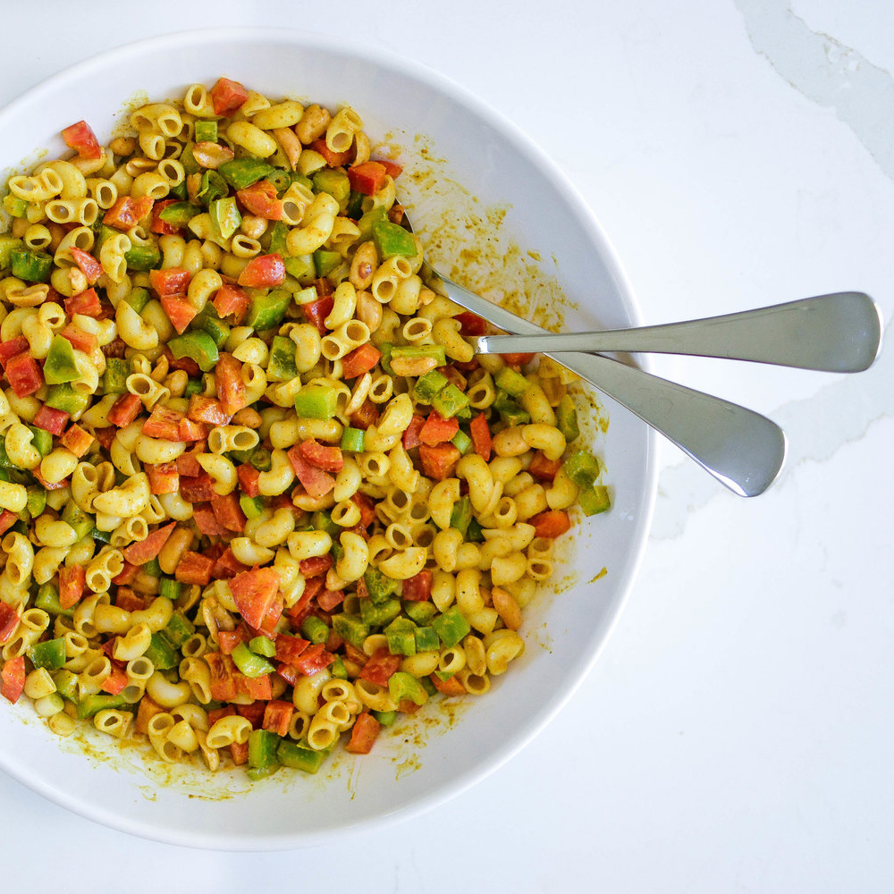Ballerina Bites: Curried Pasta Salad