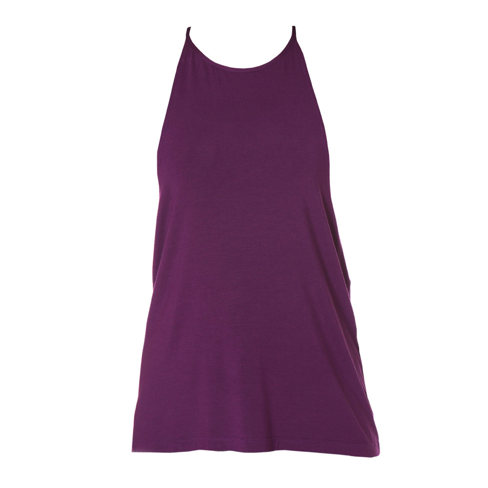 Pia Singlet in Plum