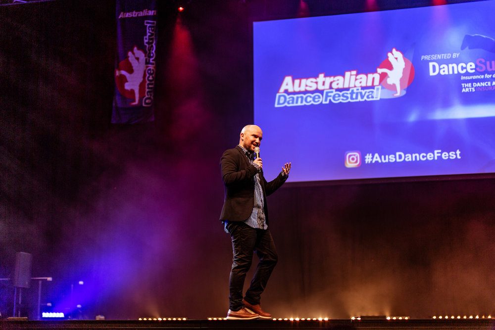 Marko Panzic at the Australian Dance Festival 2018