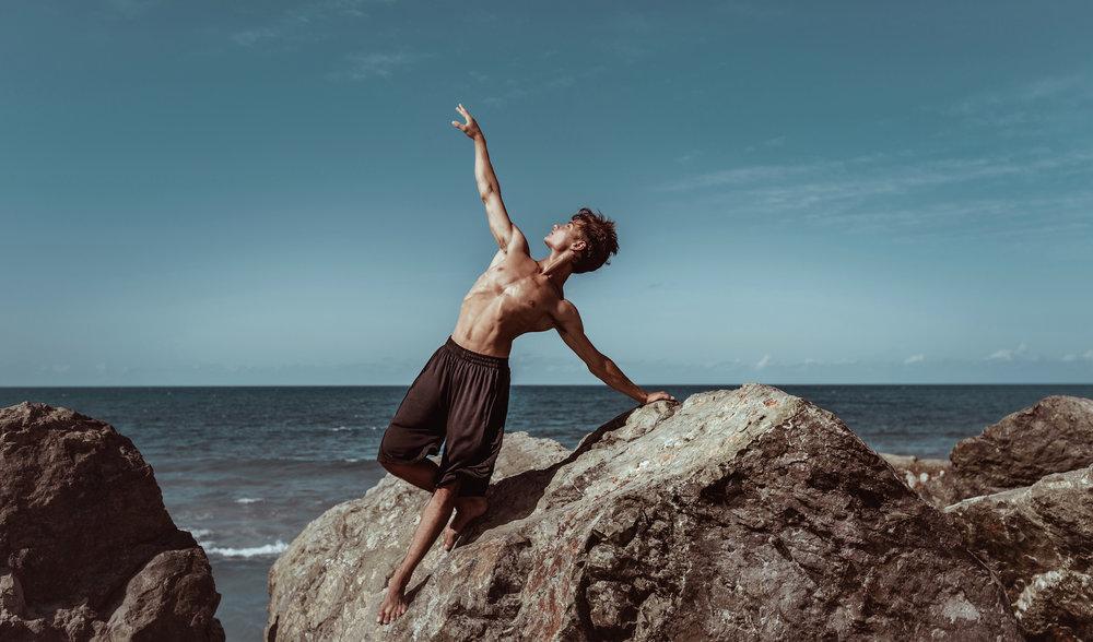 2019 Model Search Winner Joel Burke for Energetiks in Queensland, Australia. Photographed by Elly Ford.
