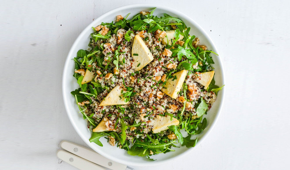 Alex's Sweet Citrus Tofu Salad - find this delicious recipe exclusively in her  e-Book