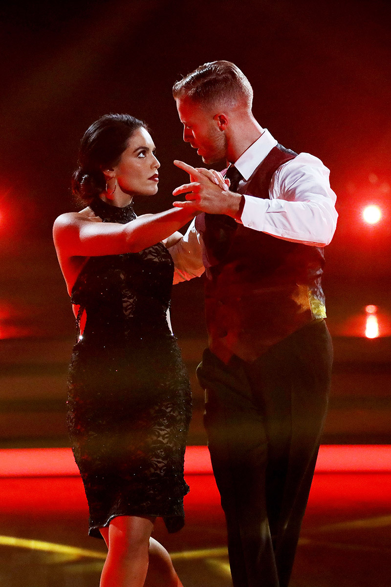 Jarryd & partner Olympia Valance in week four. Image courtesy of Channel 10.