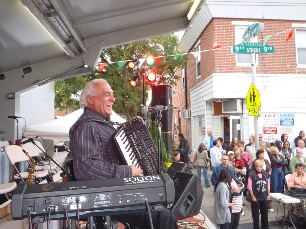 Nick Desiderio at Italian Festival