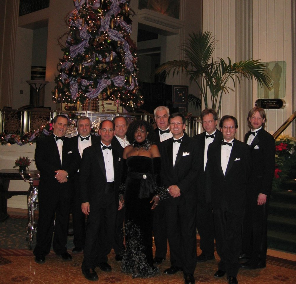Christmas at the Waldorf, New York