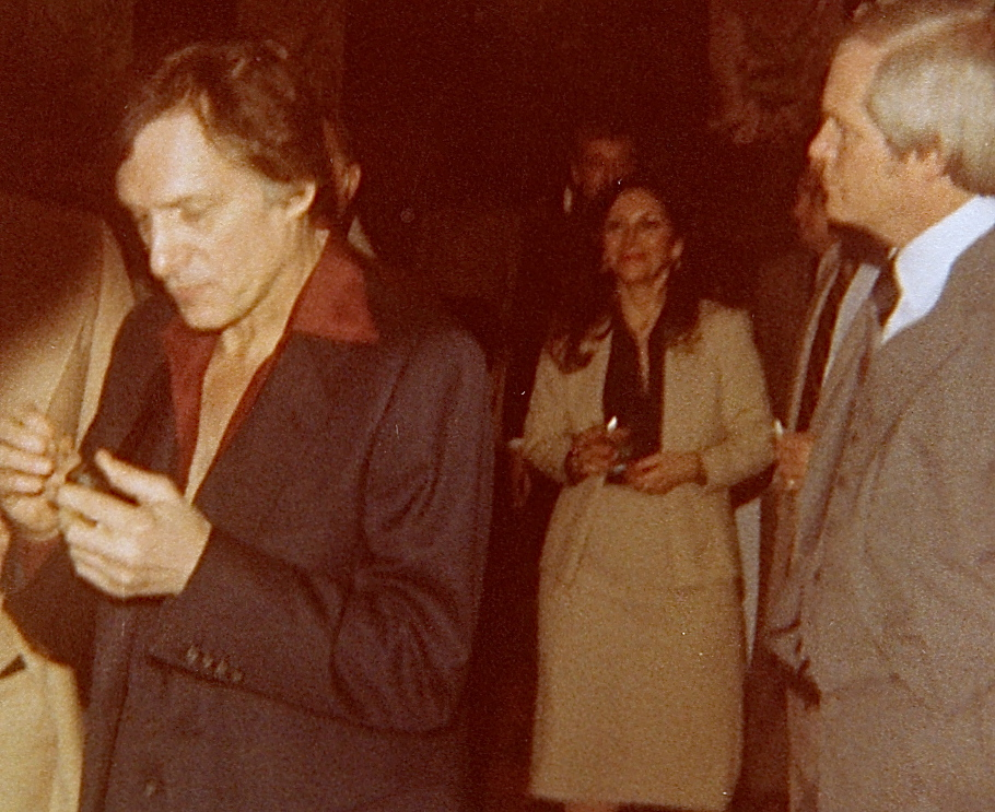 Hugh Hefner at Playboy Casino Opening (1981)