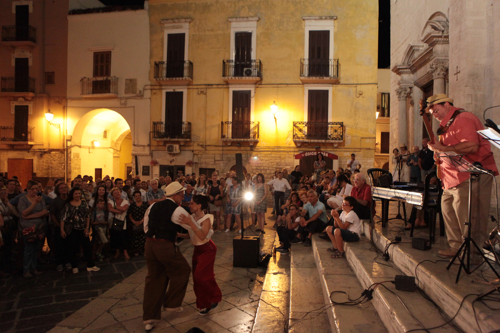 Concert in Bari, Italy