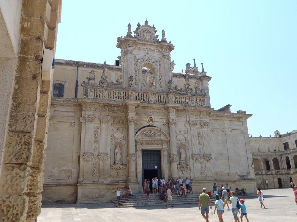 17 Basilica di Croce Lecce Italy 2015.jpg