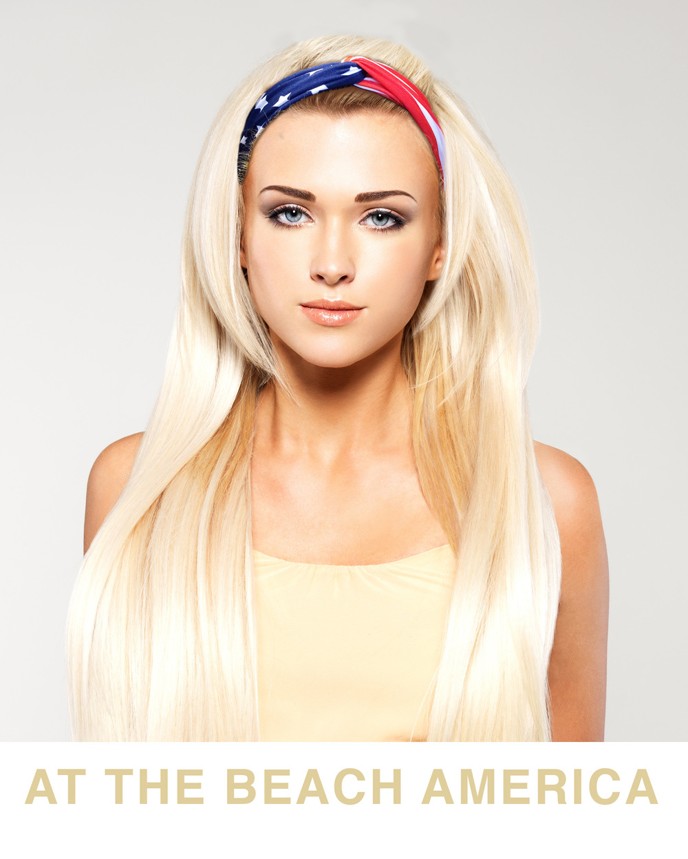 Turbin Headband Model Photo