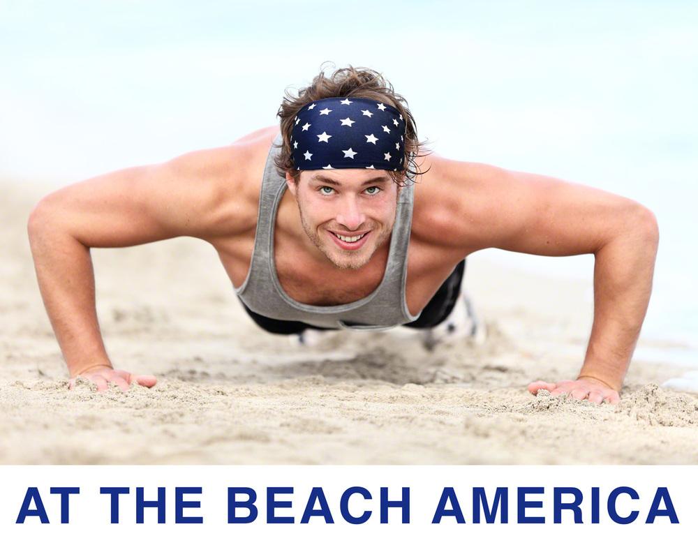 Mens Running Workout Sweatband