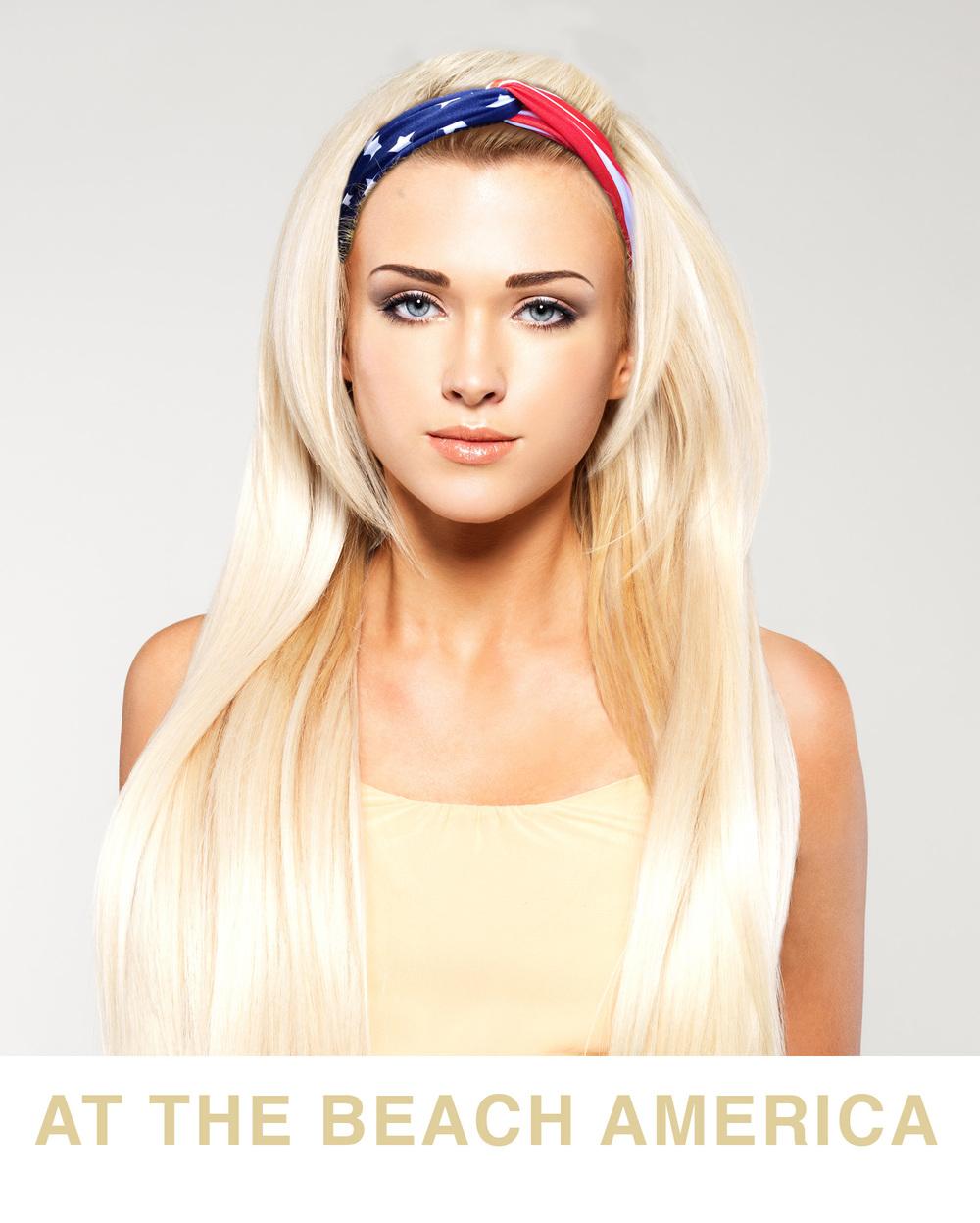 Turban USA Flag Headbands