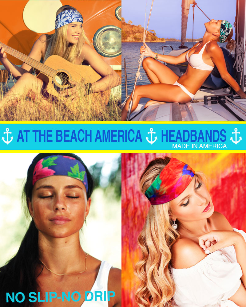 Get a $36 AT The Beach America Gift Certificate for just $20! - Limited time offer. Certificate does not expire. Good for 2 Headbands.