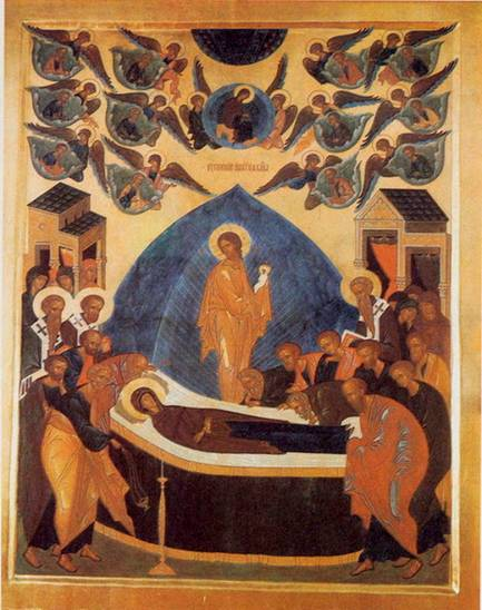 Archimandrite Zinon :Icon of the Dormition of the Mother of God