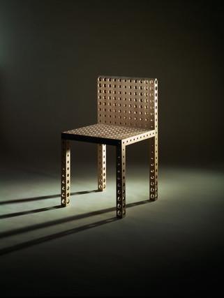 Gijs Bakker Chair with Holes Les Ateliers Courbet