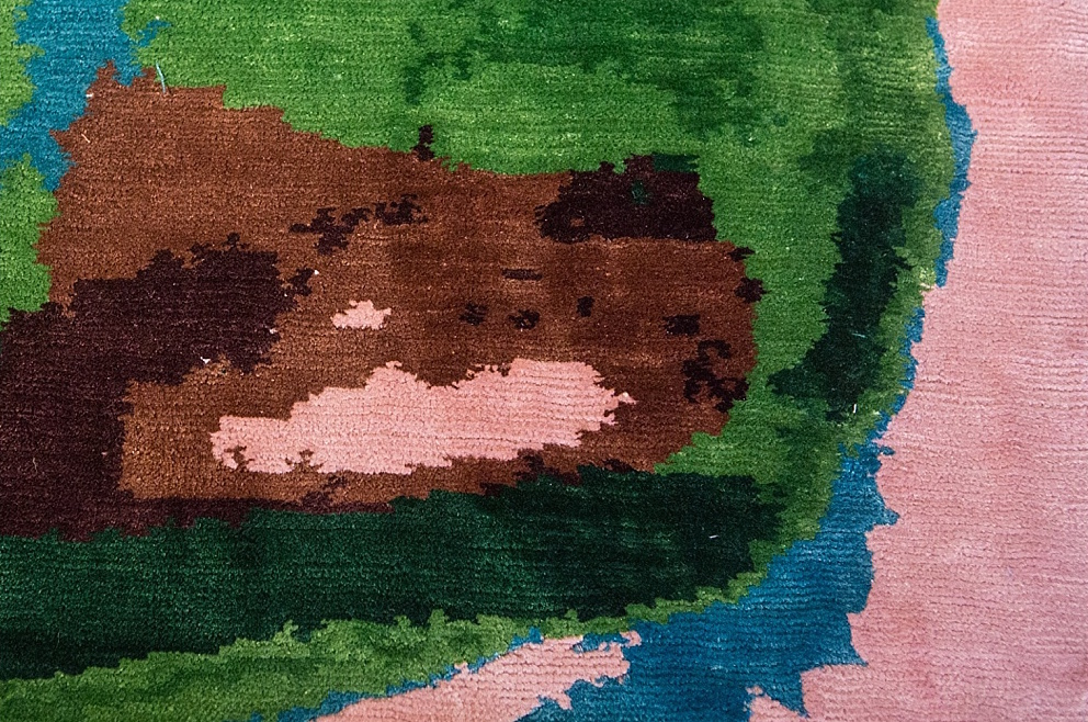 Frank Gehry Artist Rug for Atelier Courbet 6
