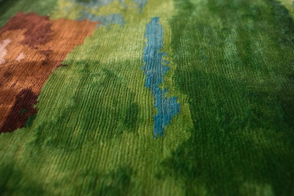 Frank Gehry Artist Rug for Atelier Courbet 4