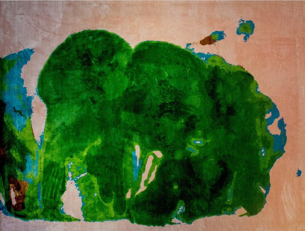 Frank Gehry Artist Rug for Atelier Courbet 1