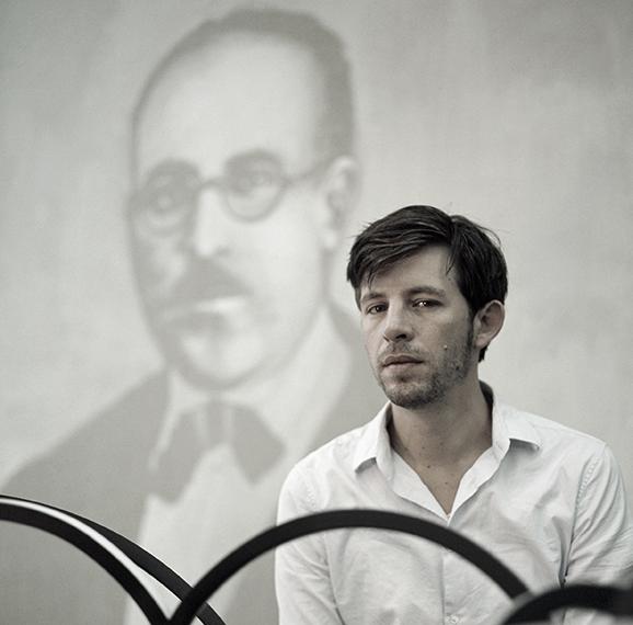 Matthias Bitzer Portrait_Artist Rugs Collection of Les Ateliers Courbet