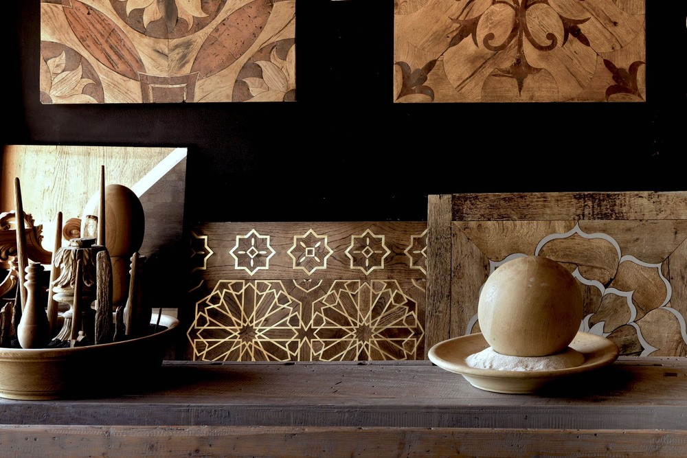 i Vassalletti Wood Floor Marquetry Parquetry Boiserie Toscany Hand Crafted Custom design - Les Ateliers Courbet