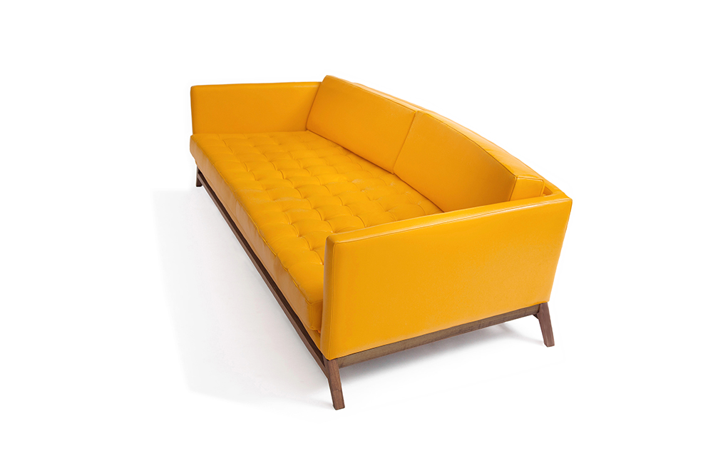 Luteca Furniture Les Ateliers Courbet Eclipse Sofa Made In Mexico Modern  Design Leather